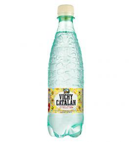естествено газирана минерална вода Вичи Каталан 500мл бутилка
