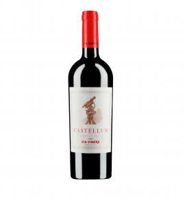 вино Кастелиум 750мл Каберне Фран 2015г