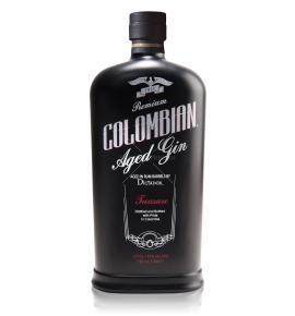 джин Диктадор Колумбиън 700мл Трежър Блек
