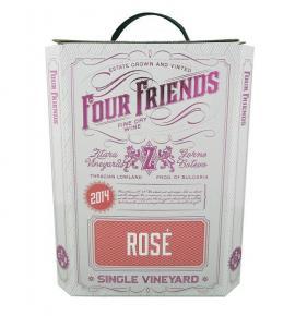 вино Фоур Френдс 3л Розе 2019г