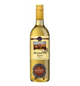 вино Хърсово Сандански 750мл Мускатно Злато Сандански