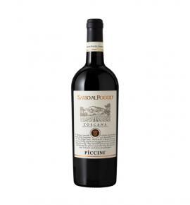 Вино Пичини Сасо ал Поджио Супер Тоскана ИГТ 2015г 750мл