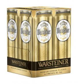 Бира Варщайнер Премиум - пакет 4бр 500мл