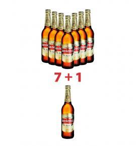 бира Крушовице 500мл Империал бутилка пакет 7 + 1