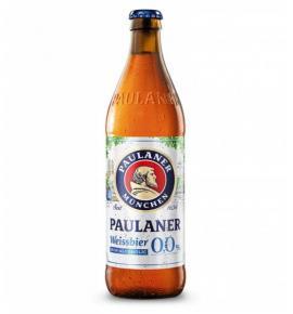 бира Пауланер безалкохолна 500мл Бутилка 0,0 %