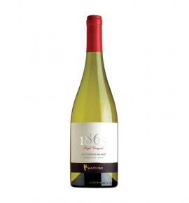Вино Сан Педро 1865 Сингъл Винеярд Совиньон Блан 2016г 750мл