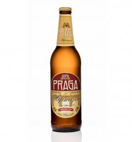 бира Прага 500мл Хефевайцен бутилка