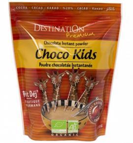 БИО разтворима шоколадова напитка Дестинейшън 800г за ДЕЦА