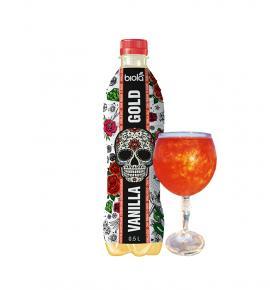 безалкохолна сокова газирана напитка Биола 500мл с вкус на РЕВЕН И ВАНИЛИЯ
