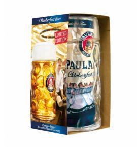 бира Пауланер Октоберфест КЕН комплект с халба 1л