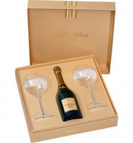 шампанско Дютц 750мл Уийлям с 2 ЧАШИ КУТИЯ