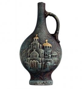 вино Мерло от Хърсово 750мл 7 Александър Невски Зелено