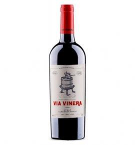 вино Виа Винера 750мл Сира и Каберне фран 2017г