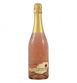 пенливо вино Йостерайх 750мл Голд Розе 23К злато
