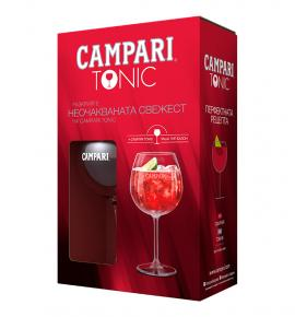 GIFT PACK CAMPARI COCTAILS GLASS