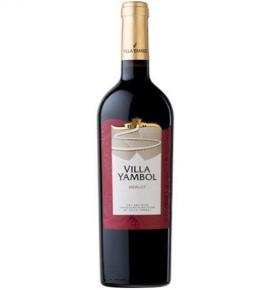 вино Вила Ямбол 750мл Мерло