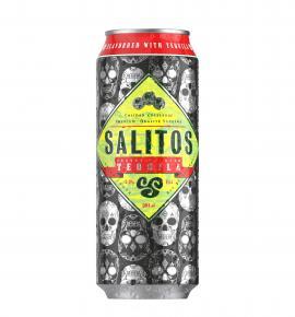 бира Салитос 330мл с ТЕКИЛА ЛАЙМ и Лимон КЕН