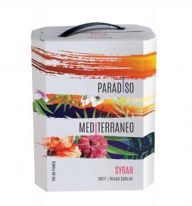 вино Парадисо Медитеранео 3л Сира