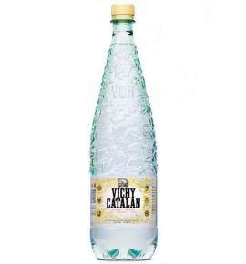 естествено газирана минерална вода Вичи Каталан 1,2л Бутилка ПЛАСТМАСА
