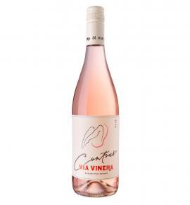 вино Контур 750мл Розе, Мерло и Каберне Совиньон 2018г