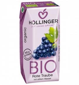 БИО сок Холингер 200мл Червено грозде