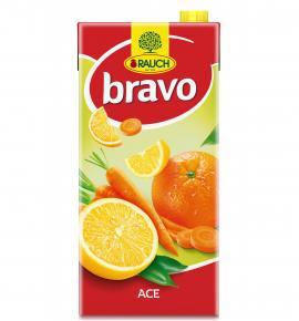 напитка Раух Браво 2л портокал, морков и лимон АСЕ 15%