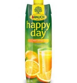 натурален сок Раух Хепи Дей 1л Портокал 100%