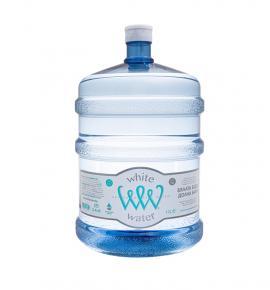 натурална минерална вода 19л Бяла вода-многократен галон