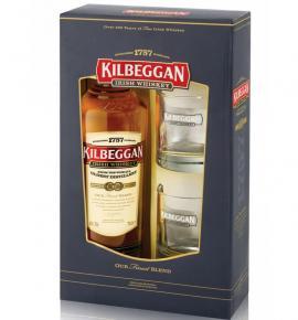 уиски Килбеган 700мл с 2 Уникални чаши