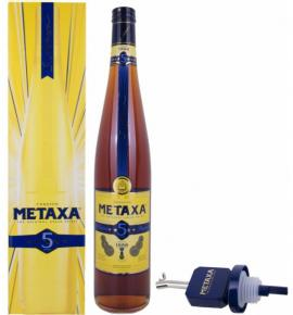 Метакса 3000 мл. 5* стойка кутия