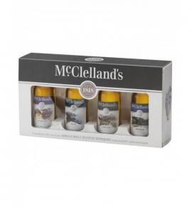 уиски Маклеландс мини 4 х 50 мл Лоуленд,Хайленд,Спейсайд, Айла /Journey Mini Collection