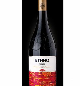 вино Етно 750мл Мерло ЕТНNО