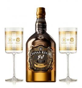 Chivas XV Balmain with 2 Glasses