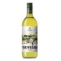 вино Тиквеш 750мл Бяло Смедеревка(Димят), Ркацители, Ризлинг