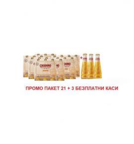 ПРОМО ПАКЕТ   21 + 3 х 175мл аперативо Кродино на КАСА