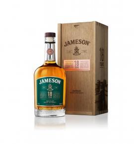 уиски Джеймисън 700мл 18г дървена кутия