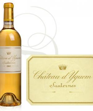 Château d'Yquem е много специално бяло вино