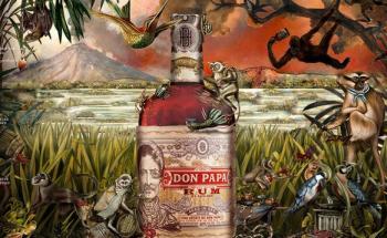 Ром Дон Папа | Rum Don Papa - топ цени - Онлайн магазин за алкохол Ноков и Син