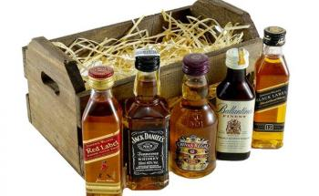 Уиски Миниатюри - топ цени - Онлайн магазин за алкохол Ноков и Син