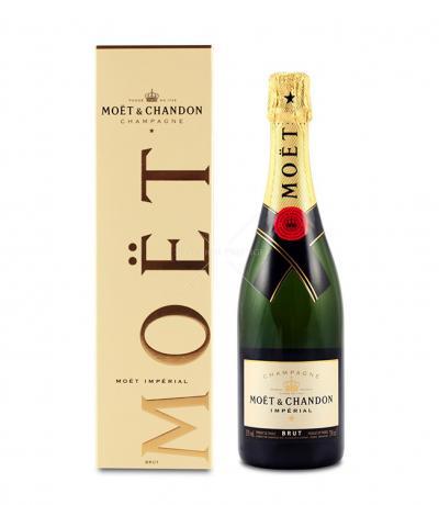 шампанско Моет и Шандон Империал 750мл Брут+кутия