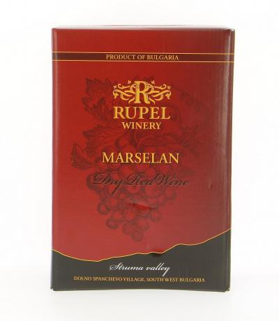 вино Рупел 3л Марселан
