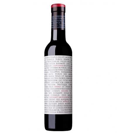 вино Мидалидаре Карпе Дием 375мл Каберне Совиньон, Мерло, Малбек и Сира 2016г
