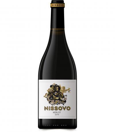 вино Нисово 750мл Мерло