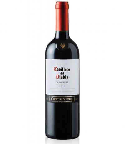вино Касиеро дел Диабло 750мл Карменер Резерва