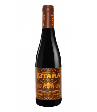 вино Фоур Френдс 375мл Зитара Мерло и Сира 2016г