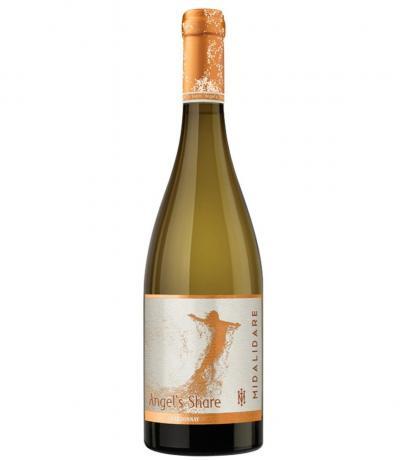 вино Мидалидаре Ейнджълс Шеър 750мл Шардоне 2017г
