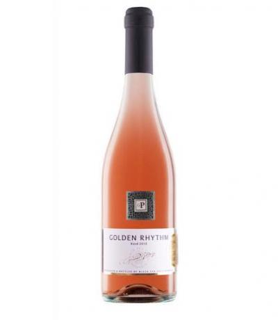 вино Златен Ритъм 750мл Розе