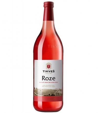 вино Тиквеш 1л Розе