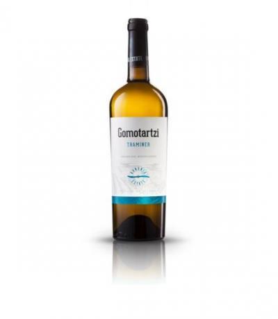 вино Гомотарци 750мл Траминер 2016г