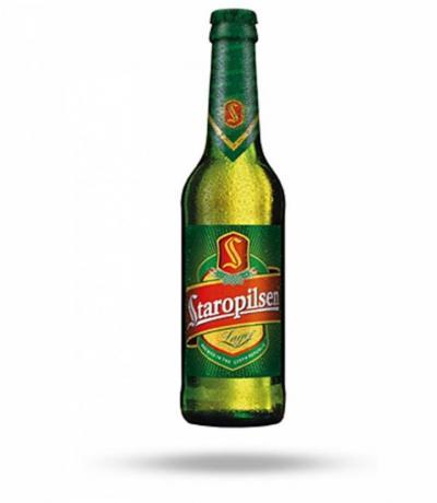 бира Старопилзен 330мл Стъклена Бутилка